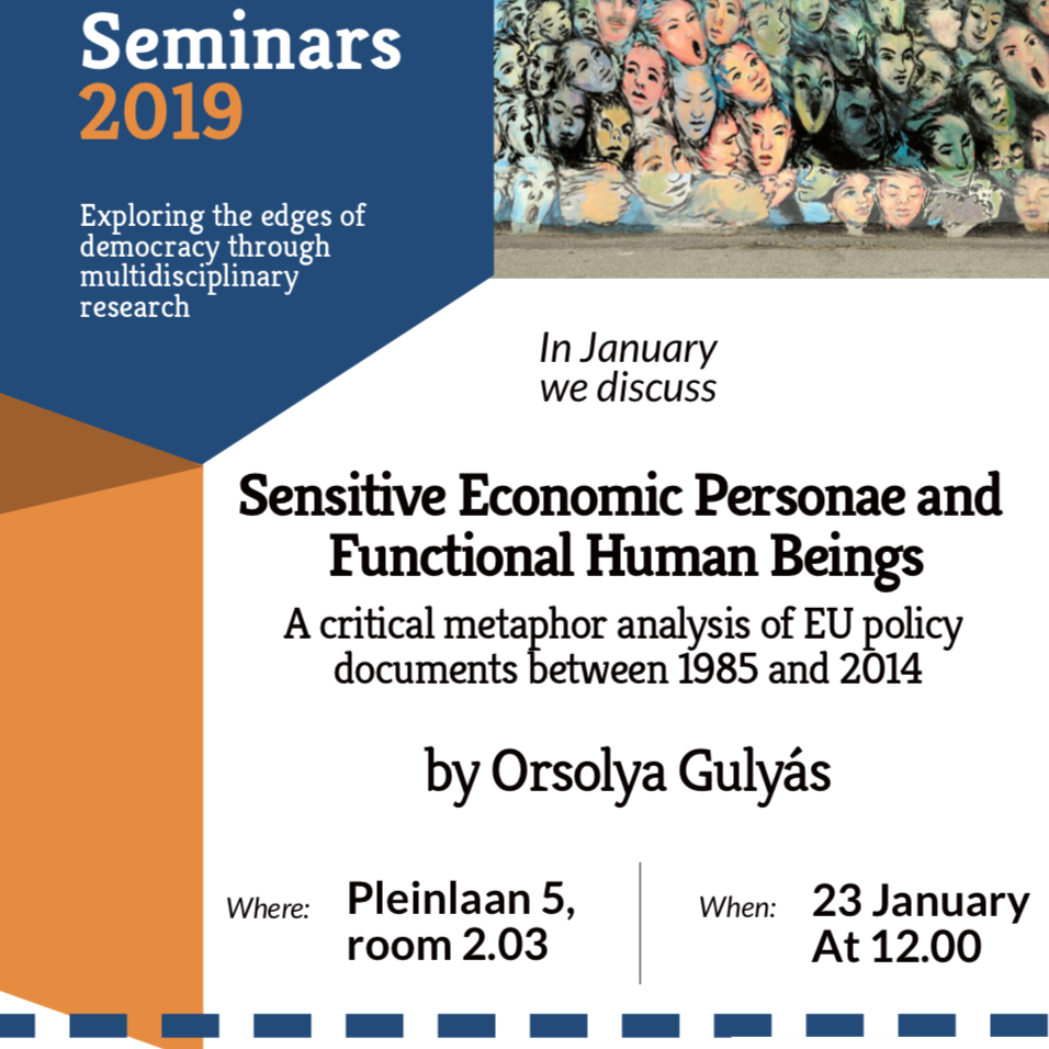 EDGE Seminar - Sensitive economic personae and functional human beings.